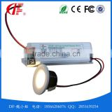 1W 3W LED Emergency Downlamp, LED Emergency Light, Mini Recessed Emergency Down Lights