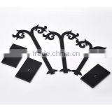 2015 Black Acrylic Earring Tree Shaped Jewelry Display Stand Holder