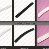 with print your logo, Grit80/80,100/100, 100/180, 180/240 Zebra banana nail file, wholesale,                                                                         Quality Choice