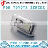 High Quality LED COURTESY LAMP Car Decorative light For TOYOTA WISH