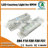 Error free white 4 pins LED courtesy light for BMW F20 F30 F01N F02N E84