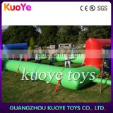 2016 new sport games football field inflatable,inflatable soap soccer pitch, cheap sealed football games