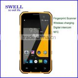 Rugged smartphone Android5.1 rugged military phone SOS PTT NFC smart phone digital and analog 2 in 1intercom SJ7
