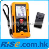 Area Volume Measurer Range Finder Professional level gauge tool 80m/262ft with Accuracy 1.5mm Laser Distance Meter