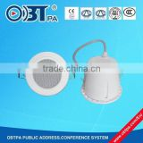 OBT-702 Water resistance ,shenzhen manufacture, ceiling speaker ,100V with good price for public address system