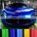 New Fashion brialliant Matte chrome brushed metallic vinyl sticker for car wrap                                                                         Quality Choice