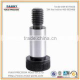 good quality cnc machine parts ODM/OEM service stainless steel stripper bolt shoulder bolt knurled shoulder bolt