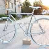 700C chrome sliver CP fixie gear bike/fixie bikes KB-700C-M16044