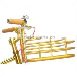 Aluminum alloy basket onebody with alloy fixie handlebar fixie single speed bicycle parts