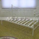 bedroom furniture white wood slat bed bese metal bed frame kids wall bed