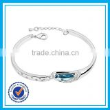 Factory direct sale fancy women bangles 925 sterling silver tennis bracelet