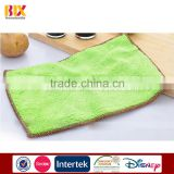 Factory Wholesale High Quality microfiber cleaning cloth kitchen cleaning towel