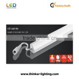 Milky /Transparent cover Rigid Led bar light TL-01 LED Rigid Strip with CE&RoHs warranty 3 years