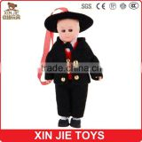 France boy plastic doll cheap plastic doll with france costume hot sale plastic doll in stock
