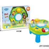 Plastic multifunction learning desk toy for kids,baby musical desk toy,educational toy
