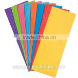 17g solid color gift colorful wrapping tissue paper,fresh flower wrapping paper, nonwoven tissue paper