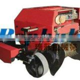 farm use mobile or horizontical type corn straw, hay, grass, wheat, rice straw round bundling machine and straw baler for silage