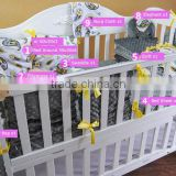 Europe Fashion High Quality Personalized Super Soft Minky Baby Crib Bedding Sets                                                                         Quality Choice