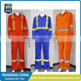 Durable and Washable FR Cotton Fire Retardant Coverall/Clothing                                                                         Quality Choice