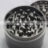 Chromium Crusher Zinc Alloy herb grinder from facotry of very good quality, strong magnet, shiny surface