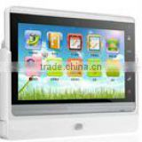 TCP IP video door phone android system for housing estate or card touch key outdoor monitor and micphone