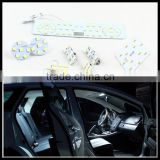 Car LED Interior reading dome map Light Kit Glove box Trunk Visor Light for VW GIT Magotan CC Sagitar R36 Passat B6 B7