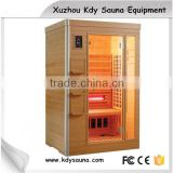 CE ETL ROHS Approved Home Use Far Infrared Sauna for 2 Person With Ceramic Rod Heater