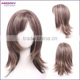 Silk Top Full Lace Wig Middle Part 100% Brazilian Human Hair Wig