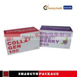 well printed paper display box cosmetics,Printed paper jewelry display box,use for exported underwear display box