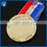 Customized insert gold torch blank medals