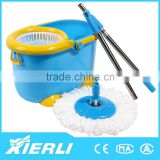 360 degree cleaning floor plastic heavy duty cleaning wringer microfiber twist mop head bucket