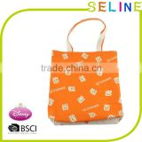 Seline OEM promotional customized cotton canvas fashion custom tote bags no minimum