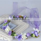 Bridal Design Hair Accessories Colorful Flower Headband,Fascinator Headband Wholesale