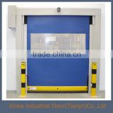 Industrial factory workshop interior pvc roll up door