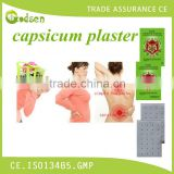 OEM /ODM service herbal medical with aromatic smell pain relieving capsicum plaster/patch