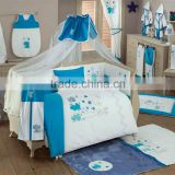 Wholesales New design embroidery baby bedding set