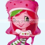 Strawberry Shortcake SuperShape Foil Balloon STRAWBERRY SHORTCAKE POSE SUPER SHAPE MYLAR FOIL BALLOON 18*30inch