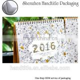 wholesale custom table calendar printing design 365 day calendar custom design colorful