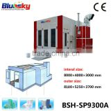 good quality china supplier car paint oven/spray paint remover/electrostatic spray booth