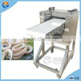 Industrial Automatic Sleeve-fish Squid Ring Cutting Slicing Machine