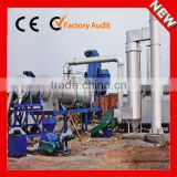 60TPH Asphalt Mobile Plant, Portable Asphalt Drumed Plant, Hot Mix Mobile Drum Asphalt Plant for sale