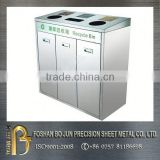 Stainless steel container medical mobile garbage bin