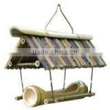 bamboo bird houses & feeders bird cage