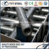 stainless steel galvanized scaffolding u head jack base formwork jack nut iron stainless steel t shape screw rod