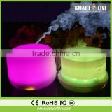 Colorful LED Lamp Ultrasonic Air Humidifier /Perfume Oil Vaporizer Automatically