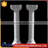 hand carved natural stone pillar architectural marble roman column NTMF-C213S