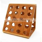 hot selling bamboo coffee capsule holder, bamboo coffee nespresso pot holder wholesale