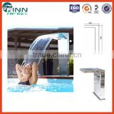 stainless steel high quality cheap garden rock swimming pool mini waterfall fountains spa waterfall