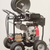 350Bar, 21L / min Gasoline Engine High Pressure Washer with Reel