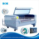 Fiber laser metal cutting machine CNC Textile auto Laser cutting Engraving machine price